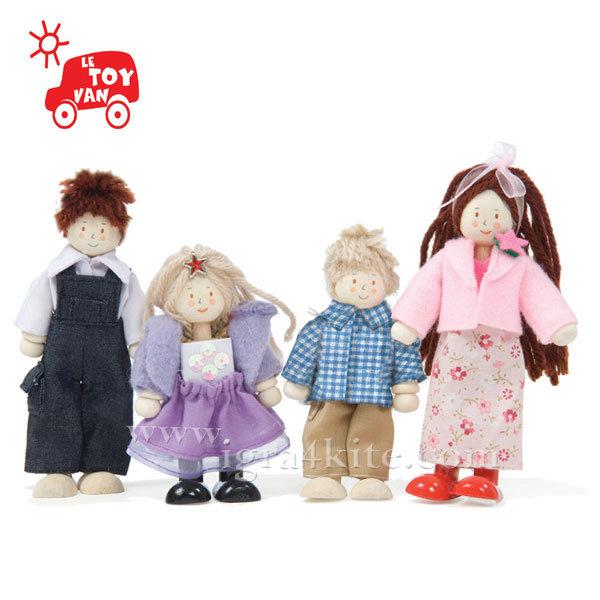 Le Toy Van - Дървени кукли Семейство My Family P051