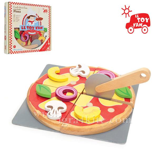 Le Toy Van - Honeybake Комплект Направи си пица TV279