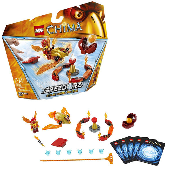 Lego 70155 Chima - Леговището на Инферно