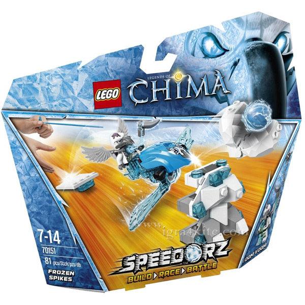 Lego 70151 Chima - Замръзнали шипове