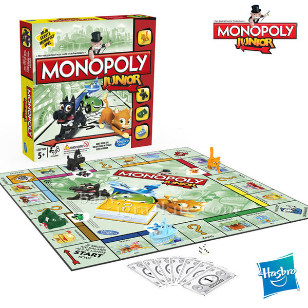 Hasbro Monopoly - Монополи за деца Junior a6984