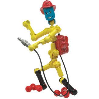 ZooB - конструктор 19 части Пожарникар 12001
