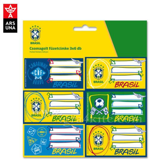 CBF Brasil - Ученически етикети ArsUna 93836708