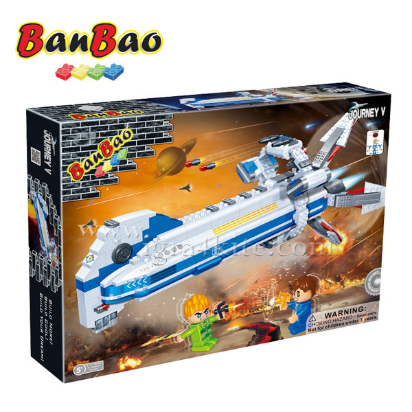 BanBao - Строител 5+ Космически кораб 6403