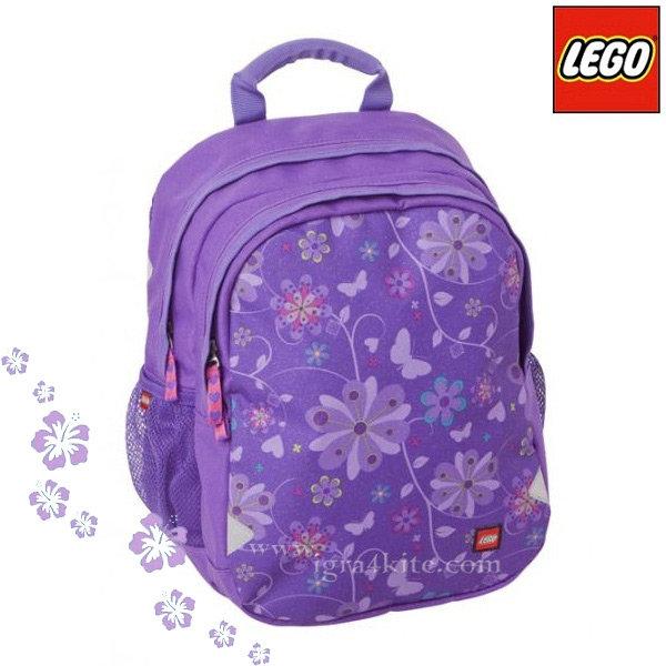 Lego Ergo - Раница за детска градина Лего Purple Flower 12115