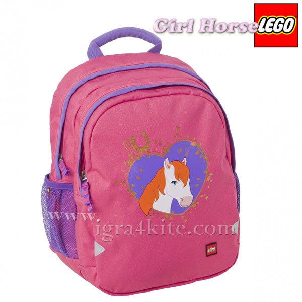 Lego Ergo - Раница за детска градина Лего Girl Horse 12114