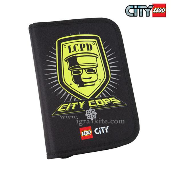 Lego School - Ученически несесер, зареден Лего City Police