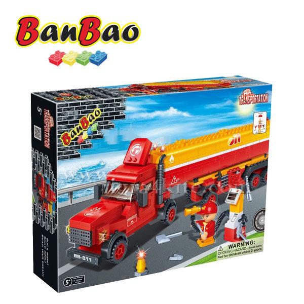 BanBao - Строител 5+ Цистерна 8765
