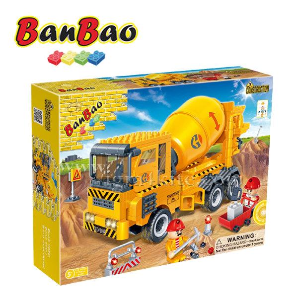 BanBao - Строител 5+ Бетонобъркачка 8535