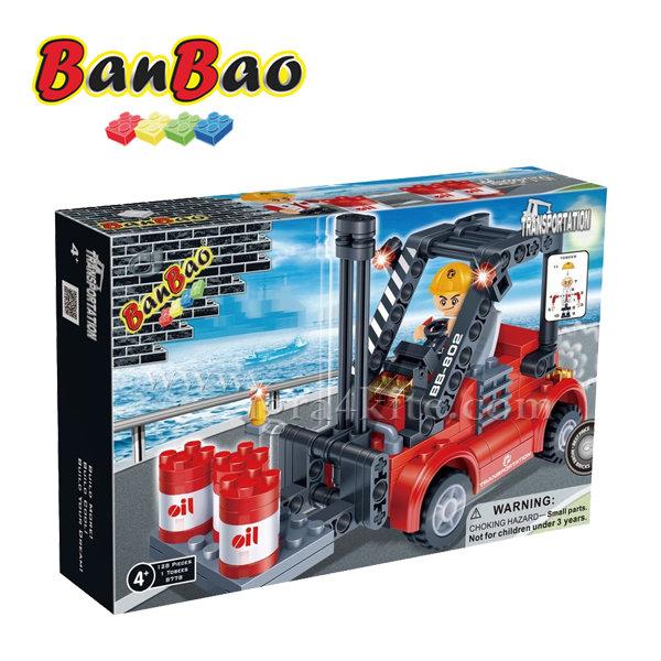 BanBao - Строител 4+ Мотокар 8778