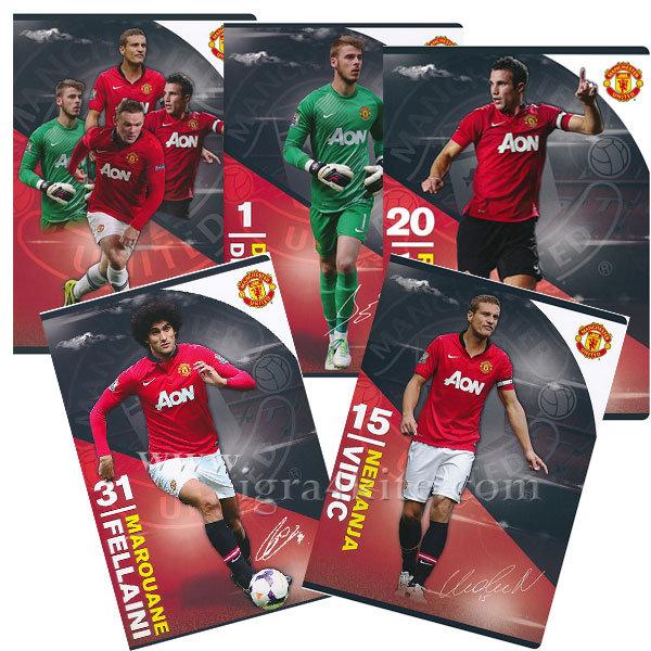 Manchester United - Тетрадка А4 Манчестър Юнайтед 62200