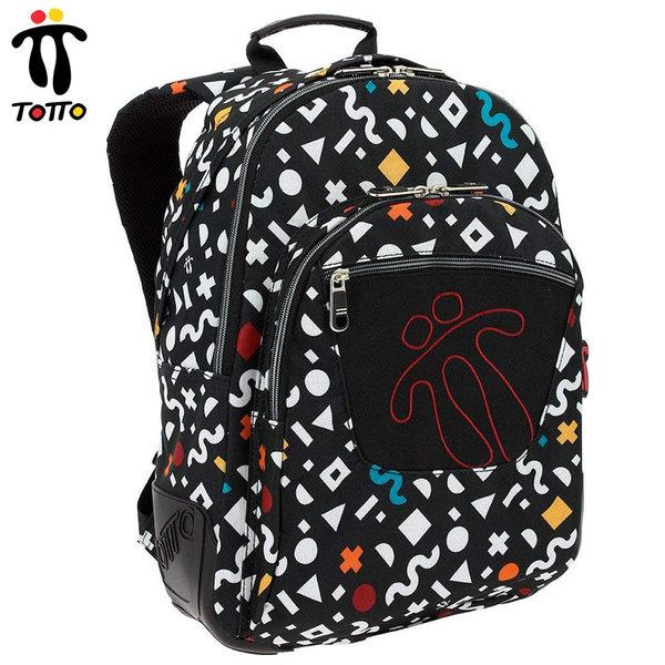 Totto - Ученическа ергономична раница Crayola Morral 3E5