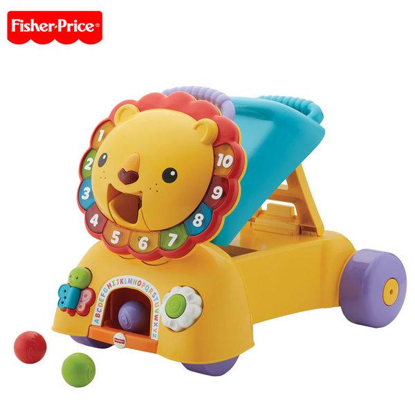 Fisher Price - Музикално Лъвче за бутане 3в1 dpl57