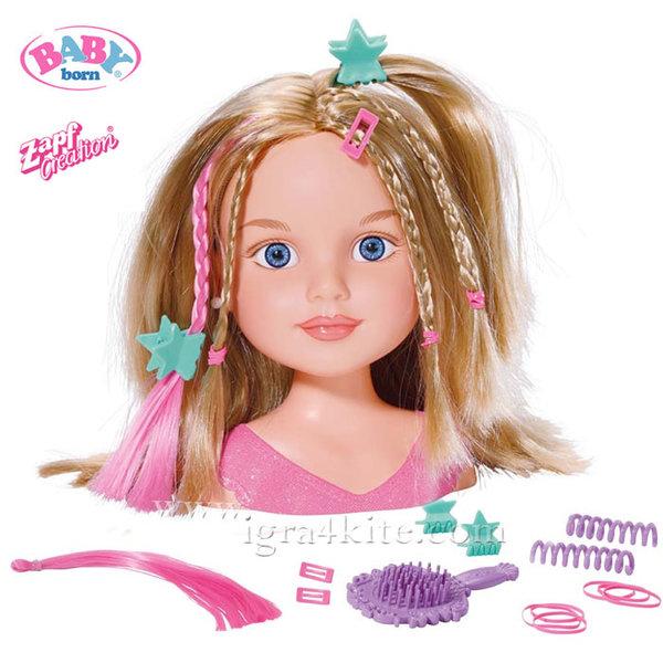Zapf Creation - Baby Born Кукла модел за прически 15см. 951521