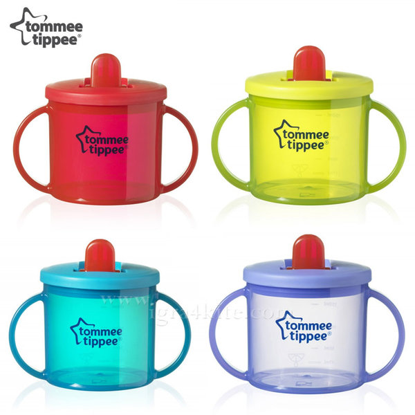 Tommee Tippee - Неразливаща се чаша Essentials First Cup 4+ 43111010