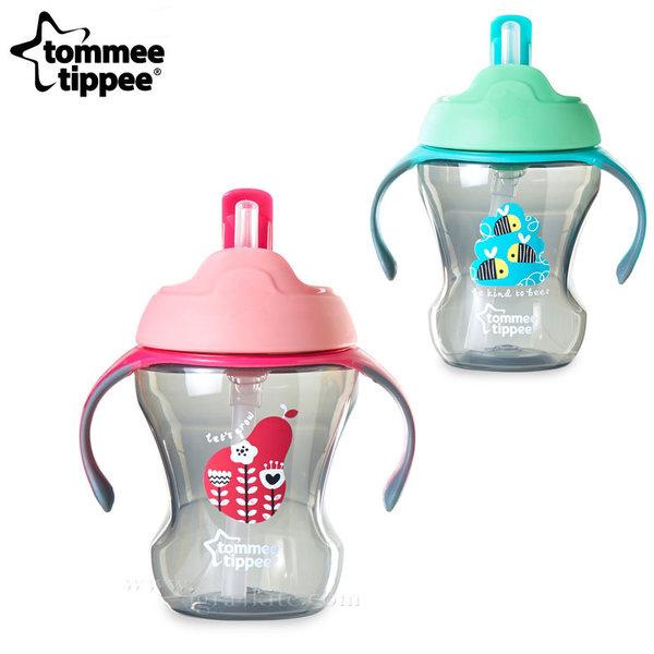 Tommee Tippee - Неразливаща се чаша със сламка 230мл 6м+ 44701597