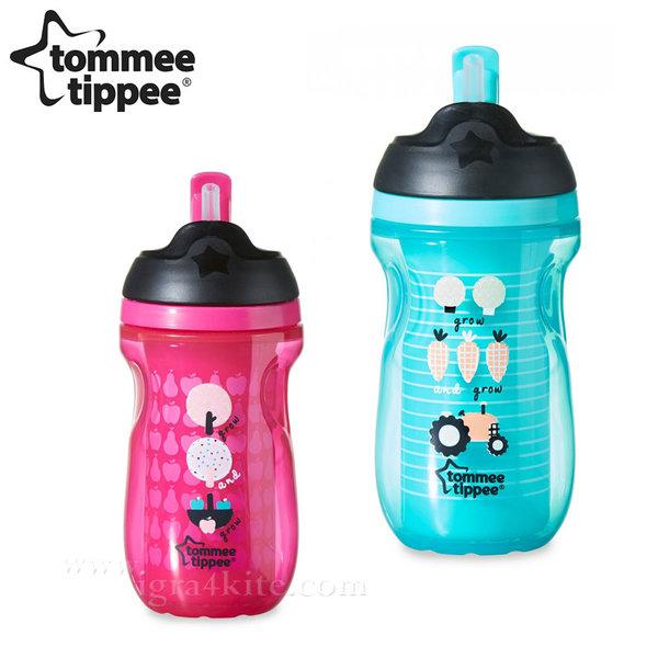 Tommee Tippee - Неразливаща се термо чаша със сламка 260ml. 12м+ 44702597