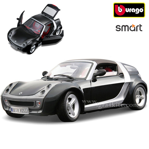 Bburago - Кола 1:24 Smart Roadster Coupe