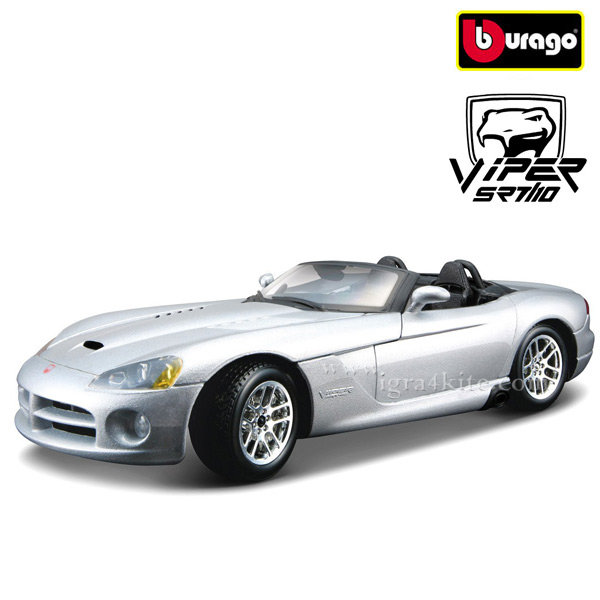Bburago - Кола 1:24 Dodge Viper SRT-10