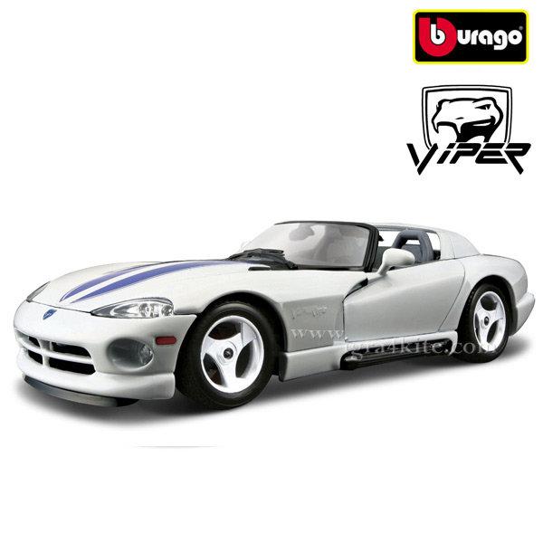 Bburago - Кола 1:24 Dodge Viper RT/10