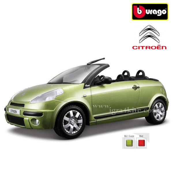 Bburago - Кола 1:24 Citroen C3 Pluriel Cabriolet Green