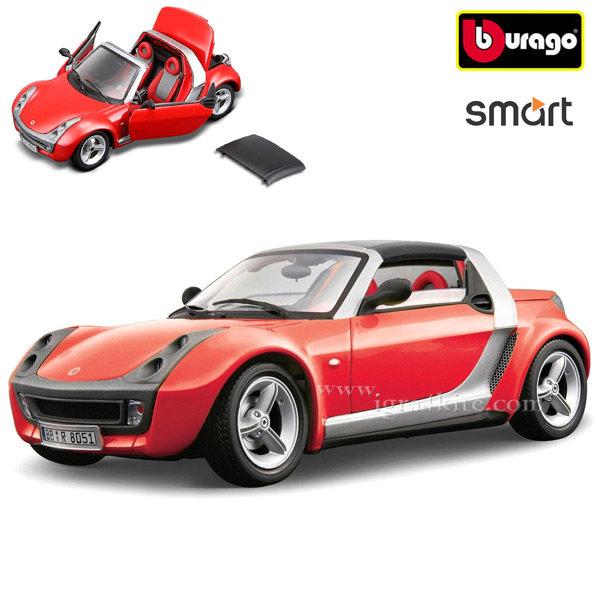 Bburago - Кола 1:24 Smart Roadster