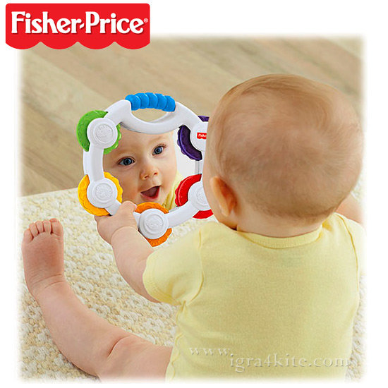 Fisher Price - Бебешко дайре с огледало BLT37
