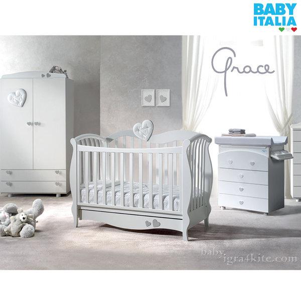 Baby Italia - Grace Детско легло с кристали Swarovski