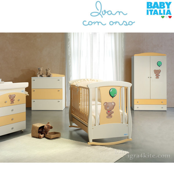 Baby Italia - Ivan Orso Детско легло люлка