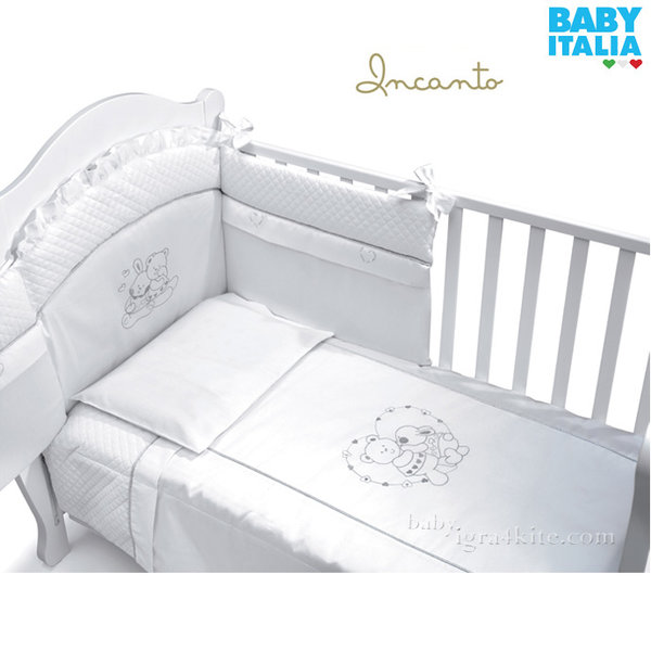 Baby Italia - Incanto Детски спален комплект с обиколник