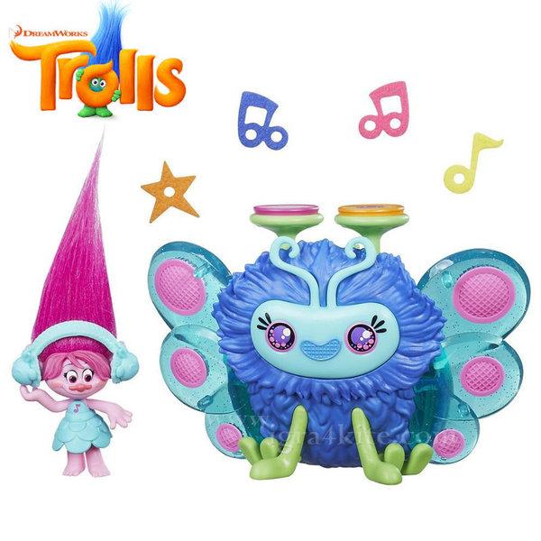 Trolls - Тролче Poppy с музикална буболечка b9885
