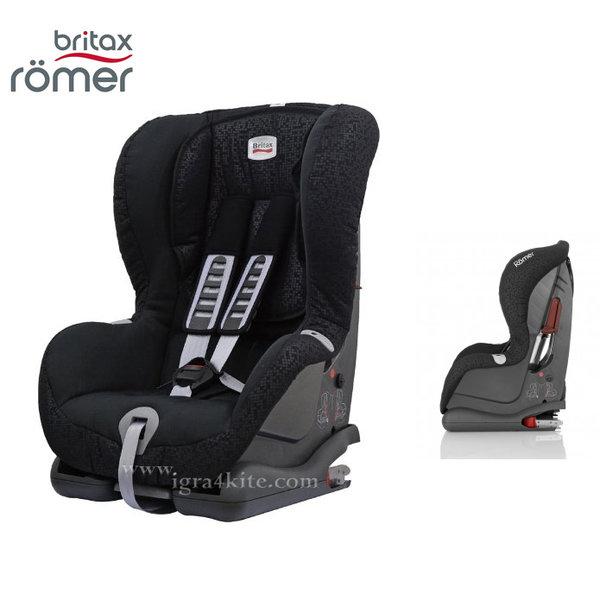 Britax Romer - Столче за кола Duo plus 9-18kg. Black Thunder