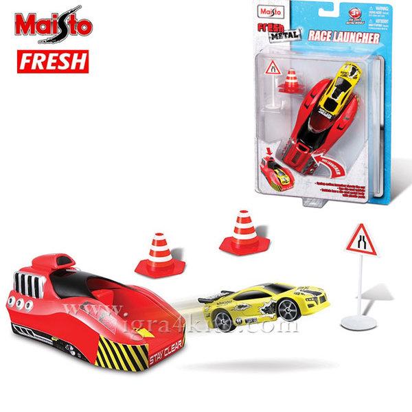 Maisto Tech Fresh - Комплект изстрлвачка с кола 1:64