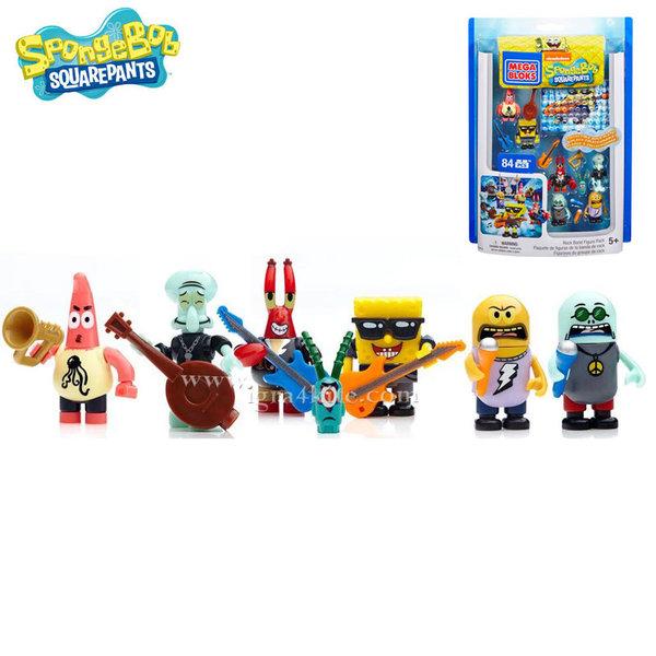 Mega Bloks - SpongeBob Комплект фигурки Спондж Боб 94619