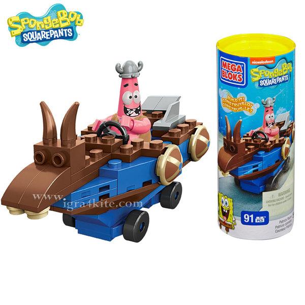 Mega Bloks - SpongeBob Превозни средства Patrick 94615-2