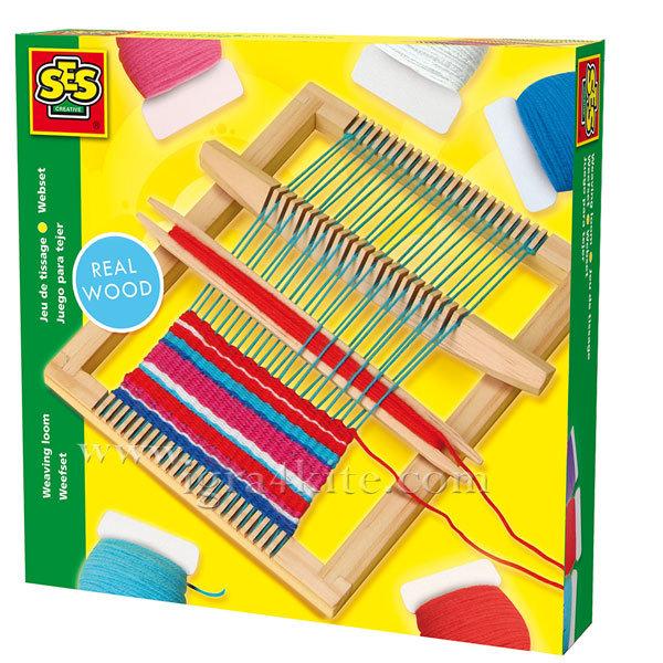 SES Creative - Детски дървен стан 00876