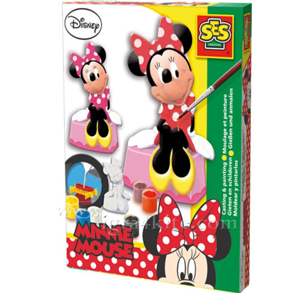 SES Creative - Гипсови отливки Disney Minnie Mouse 1266