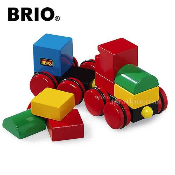 Brio - Дървено магнитно влакче 30124