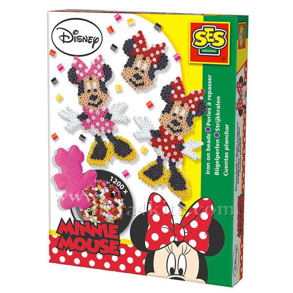 SES Creative Beedz - Disney Мозайка с мъниста Дисни Мини Маус 14737