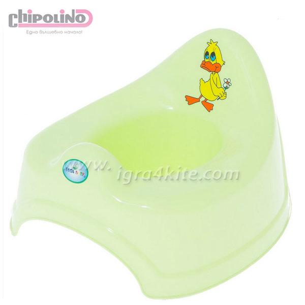 Chipolino - Бебешко музикално гърне Балбинка зелено