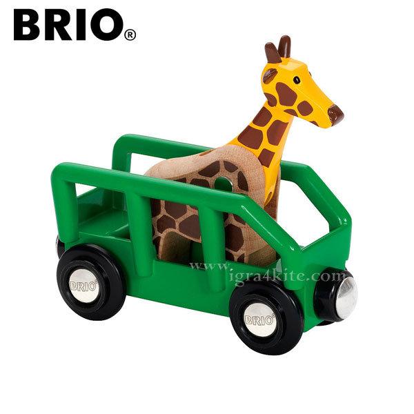 Brio - Вагонче с жираф 33724