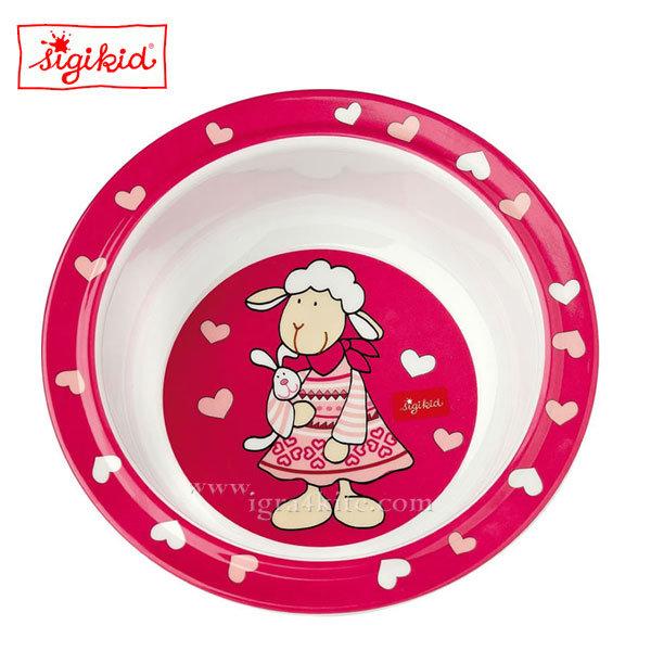 Sigikid - Schnuggi Детска меламинова купичка 24436