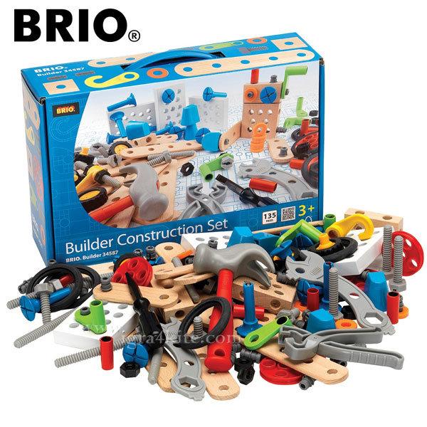 Brio - Дървен конструктор 135 части 34587