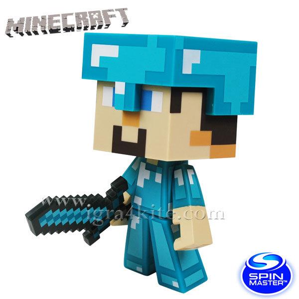 Minecraft - Колекционерска фигурка Диамантения Стив 6022577