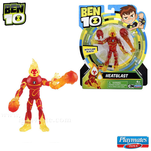 Ben 10 - Екшън фигура Бен Тен Heatblast 76100