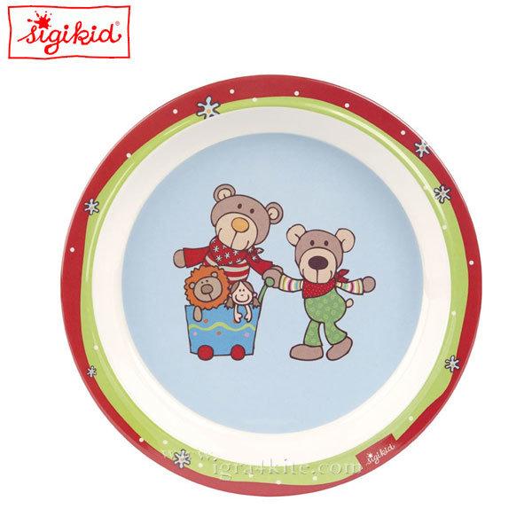 Sigikid - Wild and Berry Детска меламинова чиния 24518
