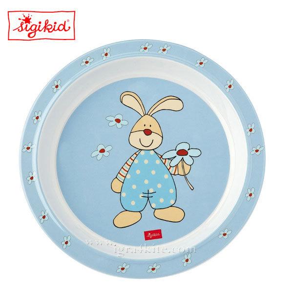 Sigikid - Semmel Bunny Детска меламинова чиния 24429