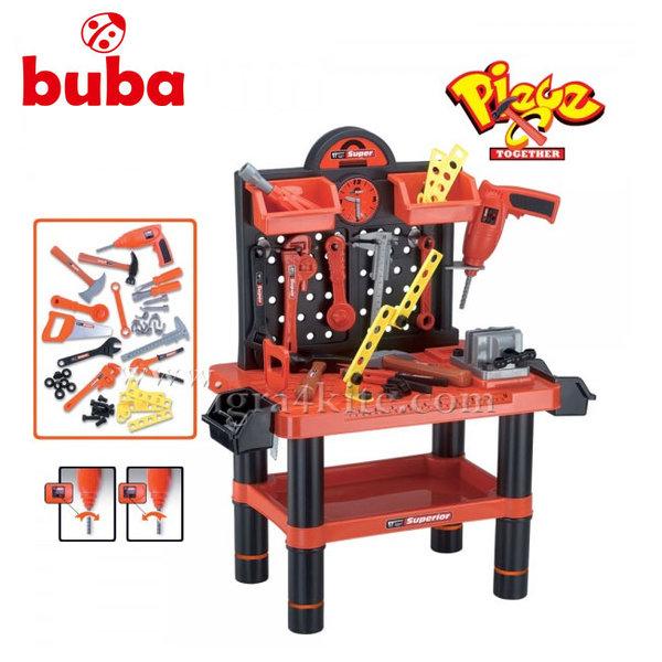 Buba - Детски център с инструменти в куфар fs801