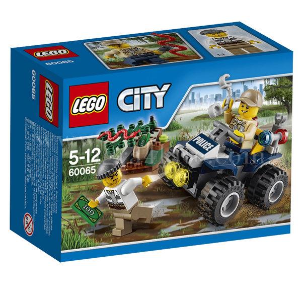 Lego 60065 City - Патрул с бъги