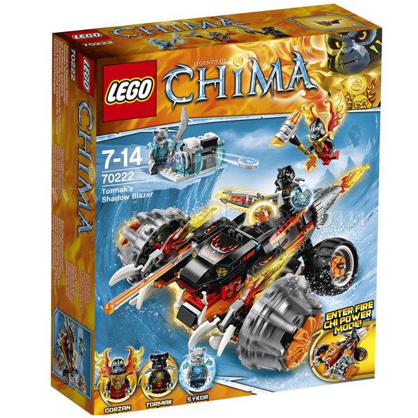 Lego 70222 Chima - Шадоу огнена машина на Тормак